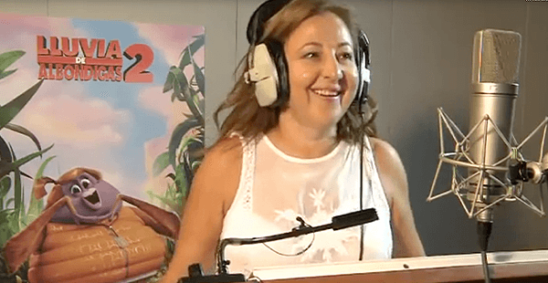 Lluvia de albóndigas 2 – Carmen Machi
