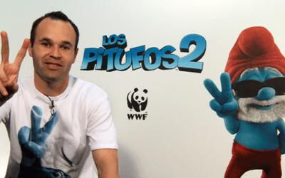 Pitufos 2 – Andrés Iniesta