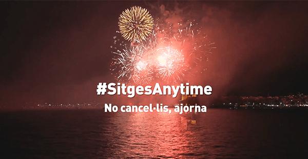 SitgesAnytime – No cancel·lis, ajorna